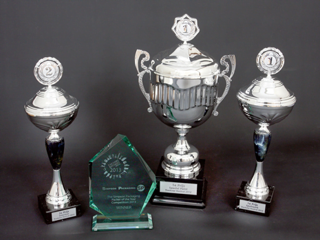 Matthew James Removals Trophies