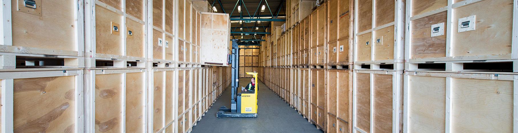 We offer storage in London, Barcelona, Madrid and Estepona.