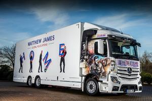 Elvis lorry