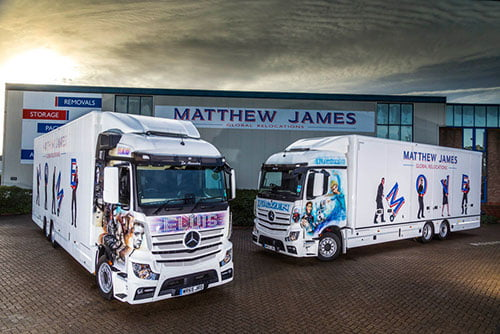 Matthew James Mercedes Actros