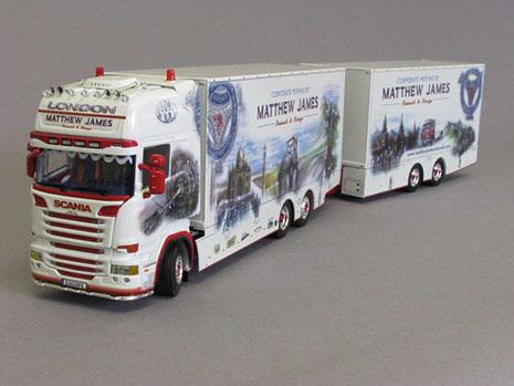 Matthew James model truck