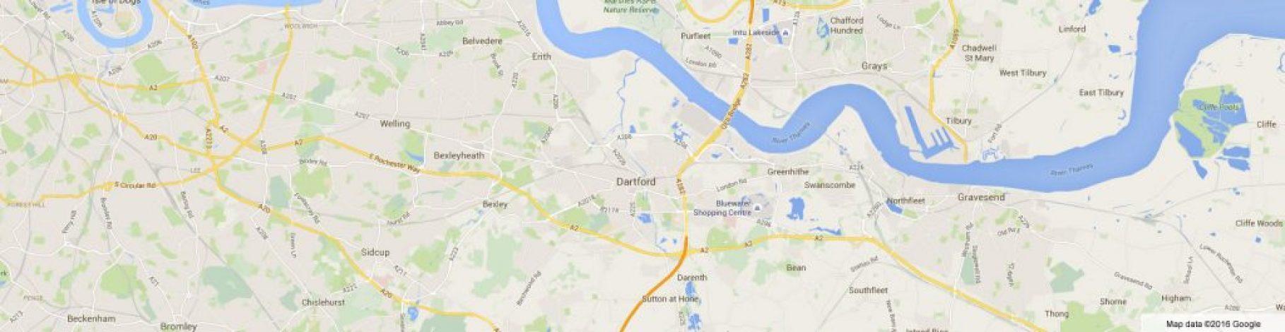 Dartford Map